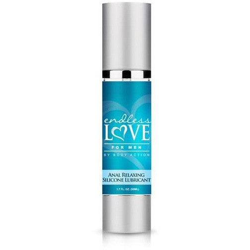 Endless Love for Men Silicone 1.7oz - Anal Relaxing Personal Lubricant Lube