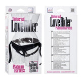 Universal Love Rider Platinum Harness Strap-on