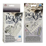 Jaguar w/ Beads - Vibrating Penis Girth Sleeve Extension