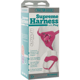 Vac-U-Lock Supreme Harness With Plug - Pink