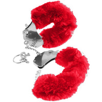 Fetish Fantasy Series Furry Cuffs - Red