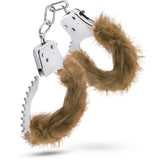 Temptasia Plush Fur Cuffs - Brown