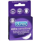 Durex Extra Sensitive - 3 Pack PM129