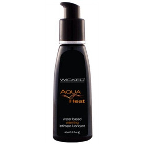 Aqua Heat Water-Based Warming Sensation Lubricant 2 Oz. WS-90227