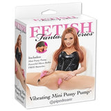 Fetish Fantasy Series Vibrating Mini Pussy Pump - Pink PD3233-11