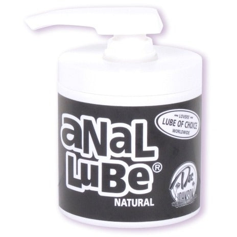 Anal Lube Natural -  4.5 Oz. Bulk DJ1315-01-BU