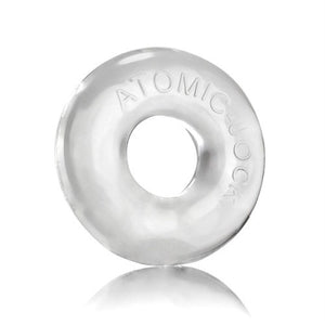 Do-Nut-2 Large Atomic Jock Cockring -Clear OX-AJ1025-2-CLR