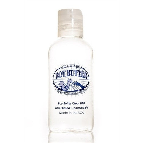 Boy Butter Clear H2O - 4 Oz. BBC04