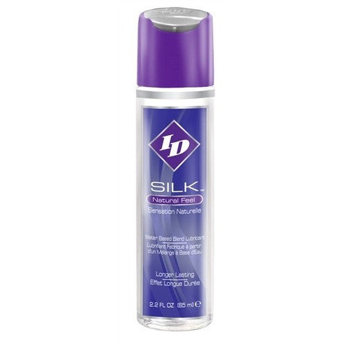 ID Silk Silicone and Water Blend Lubricant - 2.2 Oz. ID-SLK-02
