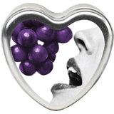 Grape Edible Heart - 4.7 Oz. EB-HSCK007