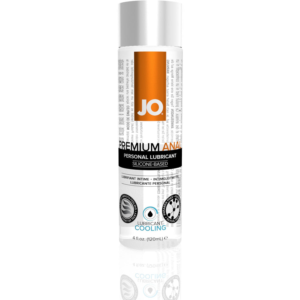 Jo Premium Anal Silicone - Based Cooling Lubricant - 4 Fl. Oz. / 120 ml JO40209
