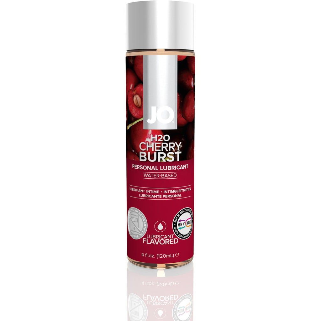 Jo H2O Flavored Lubricant - Cherry Burst - 4 Fl. Oz. / 120 ml JO40116