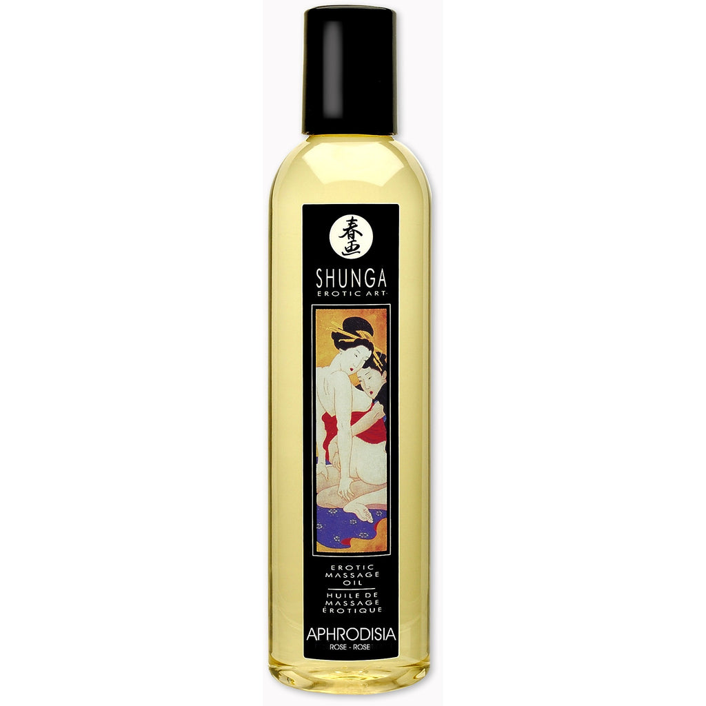 Erotic Massage Oil - Aphrodisia - Roses - 8.4 Fl. SHU1000