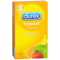 Durex Tropical Flavors - 12 Pack Pm83 PM30277