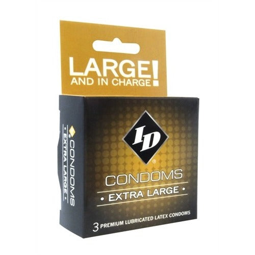 ID Extra Large Condoms - 3 Pack ID-WXL-03