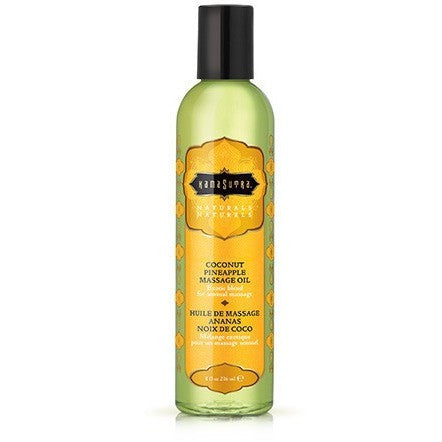 Naturals Massage Oil - Coconut Pineapple - 8 Fl. Oz. KS10219
