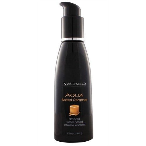 Aqua Salted Caramel Water-Based Lubricant - 4 Oz. WS-90324