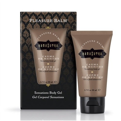 Pleasure Balm Sensations Body Gel - Creme De Menthe - 1.7 Fl. Oz. KS0260