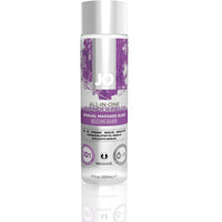Jo All-in-One Lavender Fields Sensual Massage Glide - Silicone Based - 4 Oz. JO40024