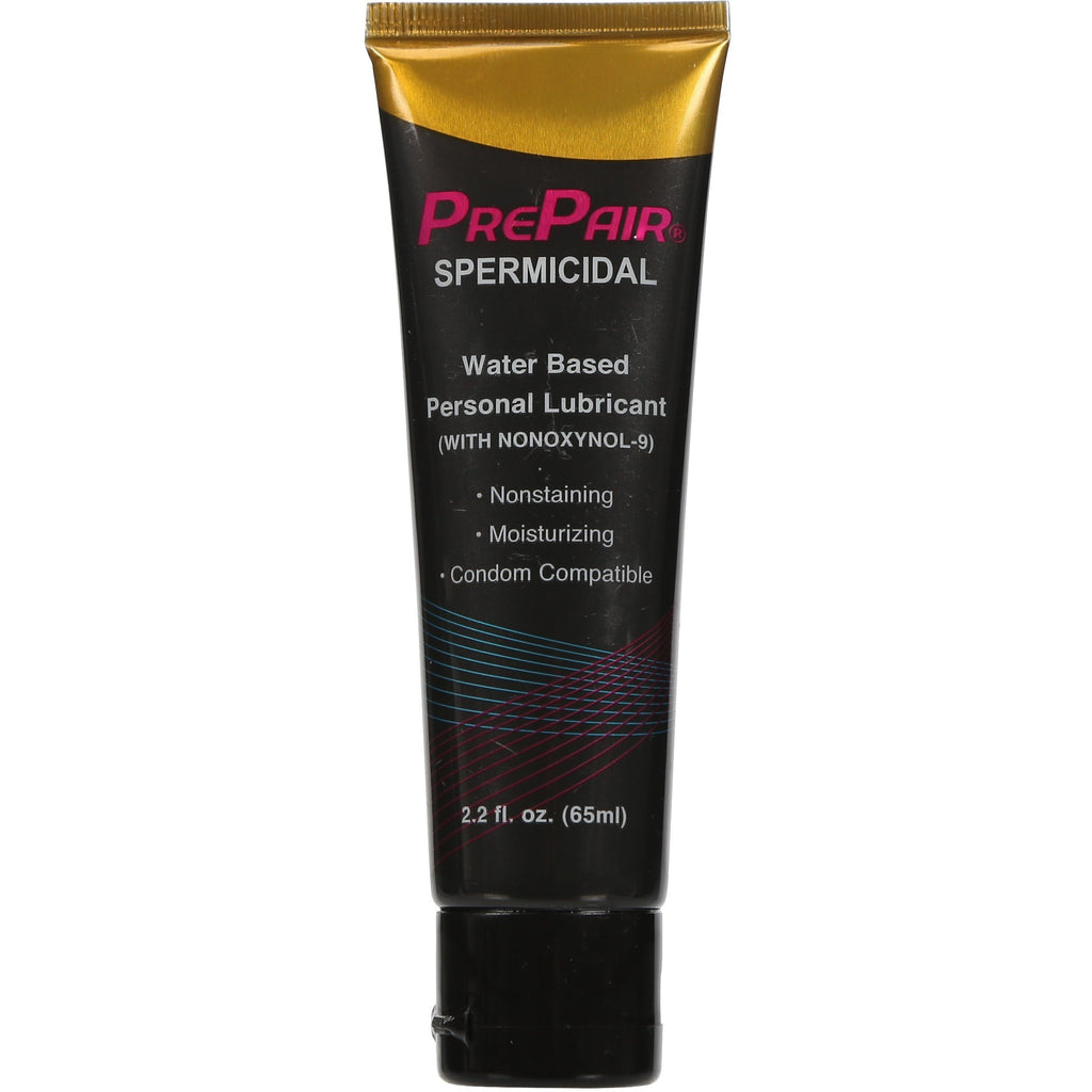 Prepair Spermicidal Water Based Personal Lubricant - 2.2 Fl. Oz. / 65 ml FP-2015