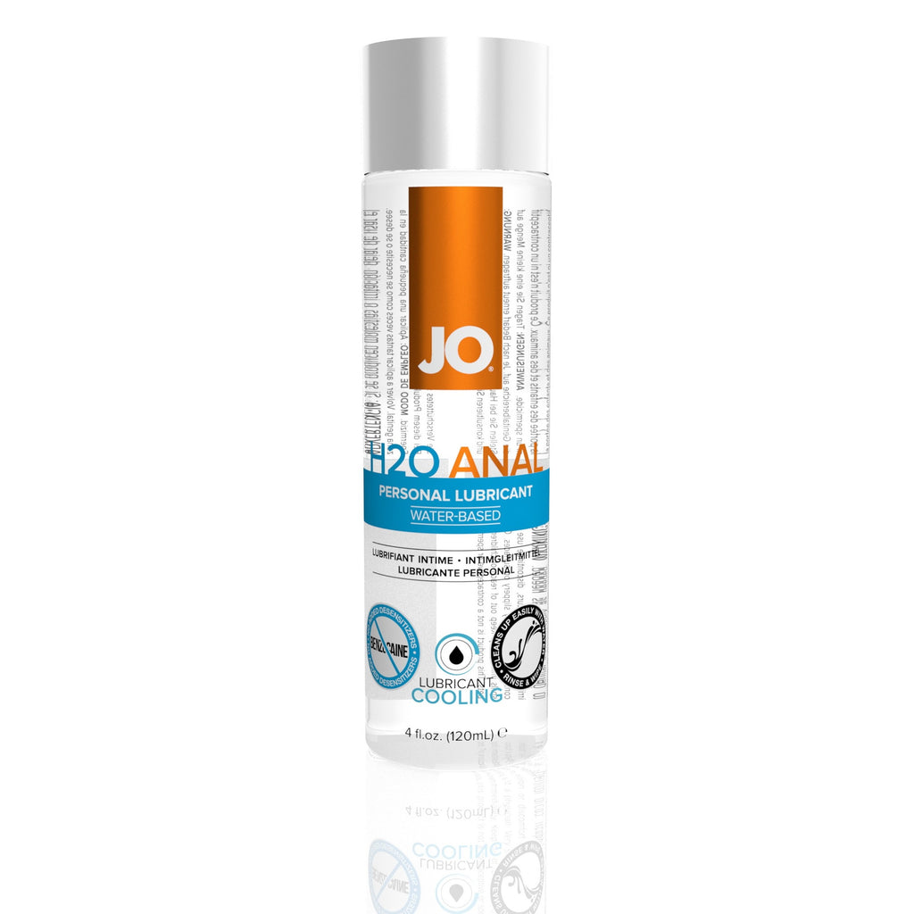 Jo H2O Anal Water-Based Cooling Lubricant - 4 Fl. Oz. / 120 ml JO40211