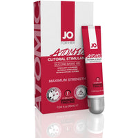 Jo Atomic Clitoral Stimulant - Silicone Based Gel - 0.34 Fl. Oz. / 10 ml JO40179