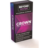 Crown 12 Pack  Latex Condoms PM20412