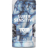 One - Tom of Finland - Super Sensitive Lubricated Condoms - 12 Pack PM111502C