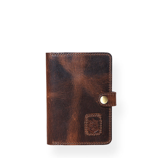Nomad Passport Holder (Bourbon Brown)