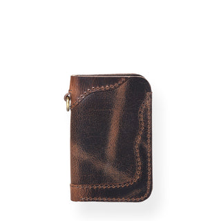 Countryman Junior Vertical Wallet (Bourbon Brown)