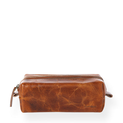 Gentleman's Dopp Kit (Tobacco Tan)
