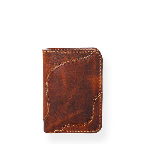 Countryman Vertical Wallet (Tobacco Tan)