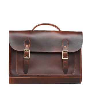 Hudson Satchel (Tobacco Tan)