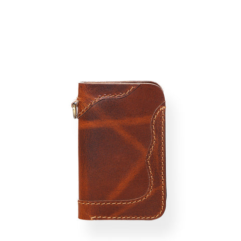 Countryman Junior Vertical Wallet (Tobacco Tan)