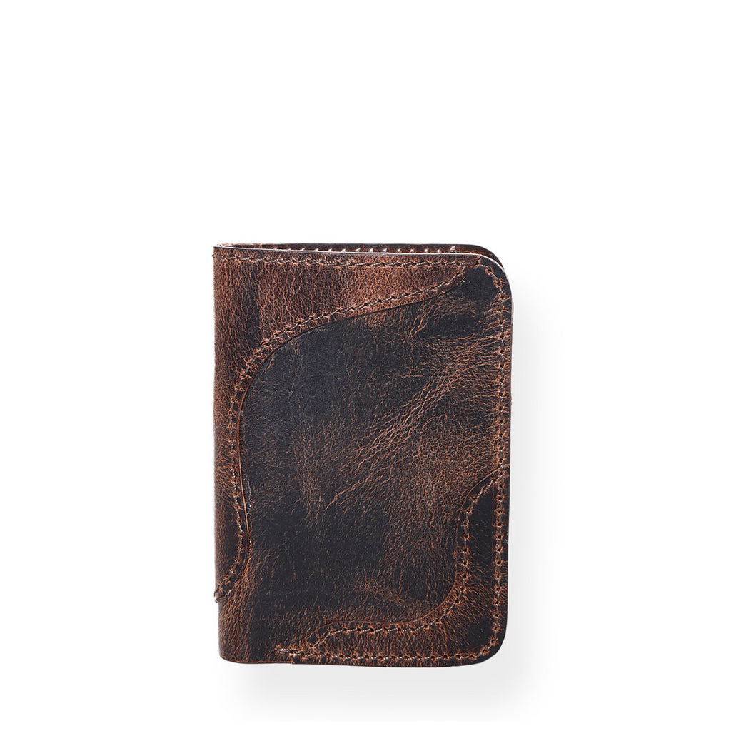 Country Vertical Wallet (Bourbon Brown)