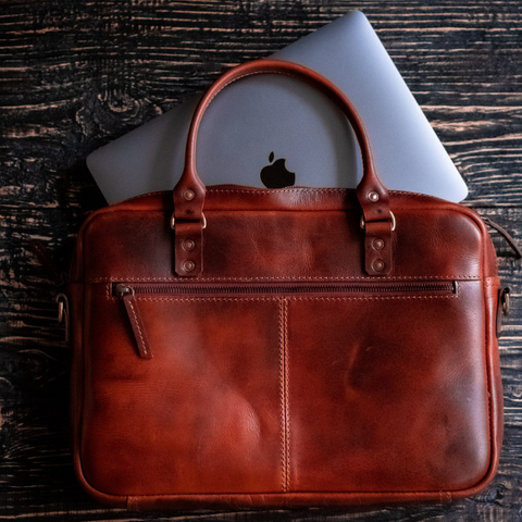 Oxford Briefcase (Tobacco Tan)