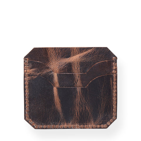 Rugged Card Holder (Bourbon Brown)