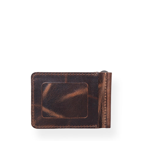 Legacy Money Clipper Wallet (Bourbon Brown)