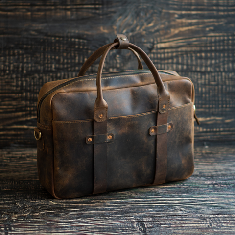 Boston Briefcase (Vintage Brown)