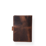 passport holder,personalized passport cover,gift for men,full grain leather passport holder,Distressed Leather Bifold Passport Cover United States