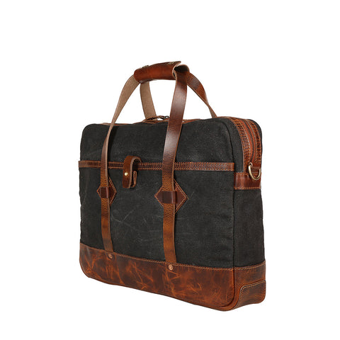 waxed canvas messenger bag,leather briefcase,laptop bag,laptop shoulder bag,men's bag,office bag,canvas briefcase,waxed canvas briefcase,bag United States