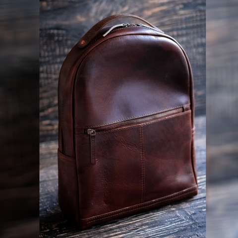 Berlin Backpack (Bourbon Brown)