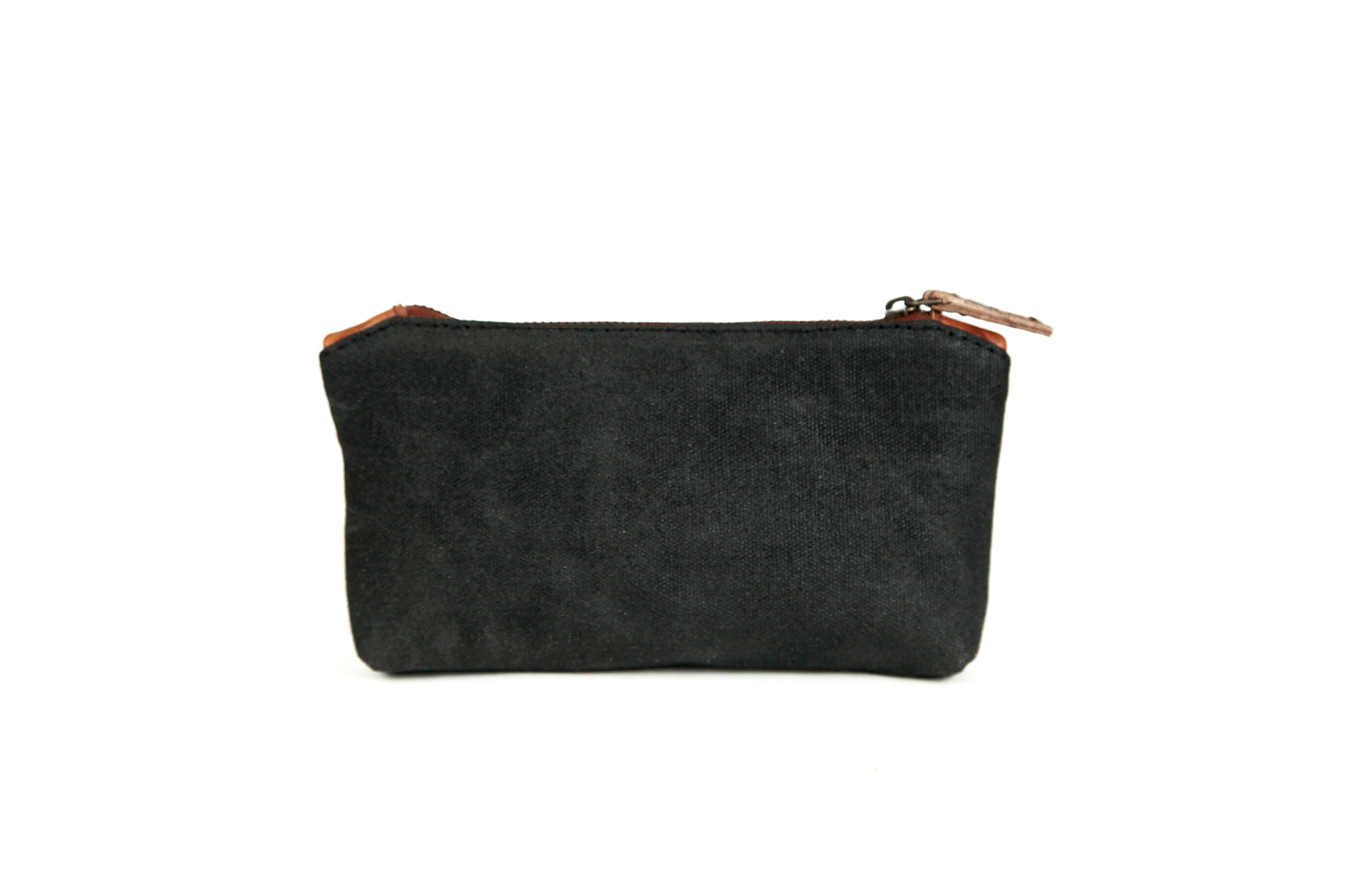 Stationery Canvas Pouch (Deep Black)