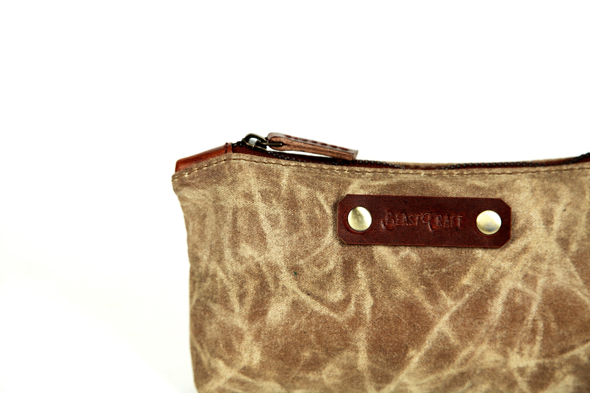Stationery Canvas Pouch (Sand Storm)