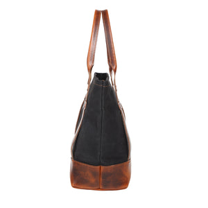 Maryland Tote (Deep Black)