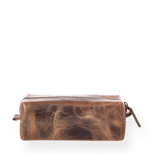 Gentleman's Dopp Kit (Bourbon Brown)