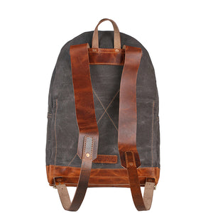 waxed canvas backpack,mini backpack,leather backpack laptop,rucksack,backpack women,waxed canvas leather backpack,college backpack gift her United States