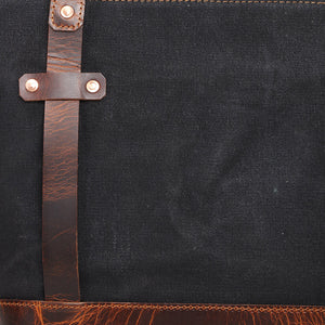 Adventure Briefcase (Charcoal Grey) | Beast Craft