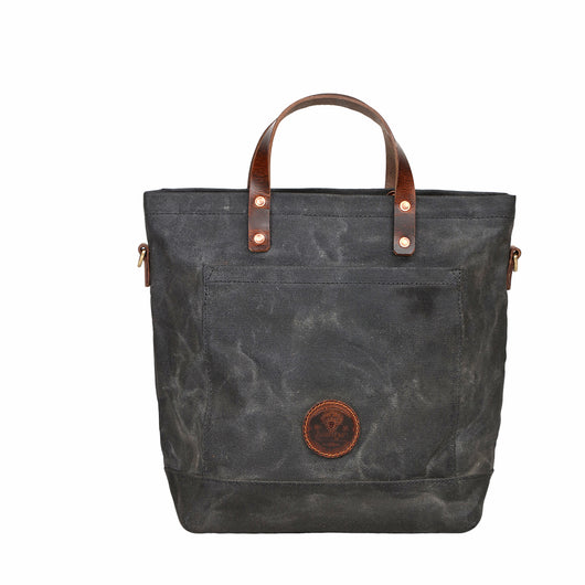 waxed canvas tote,canvas and leather tote,waterproof bag,waxed canvas tote bag,leather,sand color,medium bag,shopper bag,journal bag,rugged United States