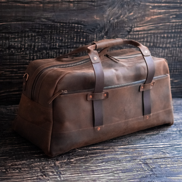 Legacy Duffle Bag (Vintage Brown))